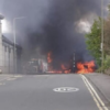 BREAKING: Lorry Fire at Westside Plaza